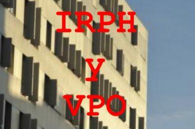 IRPH EN LOS PRÉSTAMOS HIPOTECARIOS DE VIVIENDAS DE PROTECCIÓN OFICIAL (VPO)